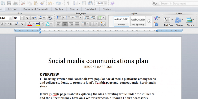 social-communication-plan